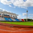 Football stadium in Vitebsk, Belarus — Stock Photo