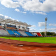 Football stadium in Vitebsk, Belarus — Stock Photo #7580011