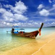 Stock Photo: Traditional Thai boat, Thailand, Phuket