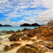 Sea landscape with clouds, Thailand — Stock Photo