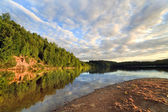 Wood lake near Vitebsk, Belarus — Stock Photo