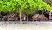 タイ、海海岸の小屋 — ストック写真