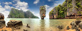 Isla de james bond, phang nga, tailandia — Foto de Stock