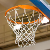 Basket for game in basketball — Stock Photo