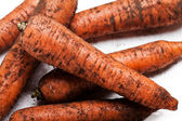 Carrot vegetable heap — Stock Photo