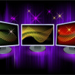 Stock Vector: Monitors