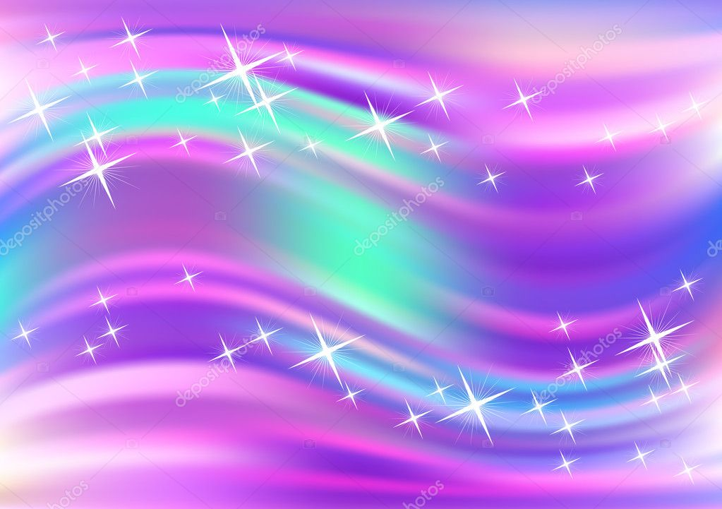 Glowing background with stars — Grafika wektorowa #6952483