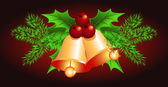 Christmas bells — Vetorial Stock