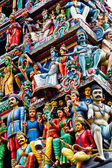 Detail of indian temple — Stock Photo