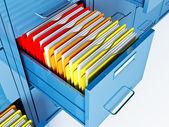 Armario para arquivo — Fotografia Stock