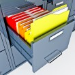 Stock Photo: File cabinet