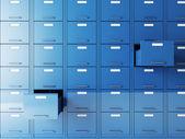 Dosya dolabı — Stok fotoğraf