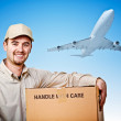 Fast delivery — Stock Photo #6832980