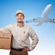 Fast air delivery — Stock Photo #6871466