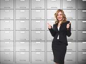 Businesswoman — Stok fotoğraf