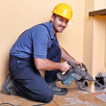 Handyman at work — Stock Photo #6962996