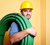 Labor at work — Stock Photo