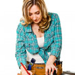 Woman at work — Stock Photo #7245665