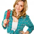 Woman at work — Stock Photo #7245746