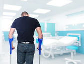 Patient in hospital — Stock Photo