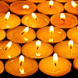 Stock Photo: Candle light
