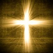 Kruis van licht — Stockfoto