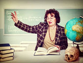 Woman teacher — Stock Photo