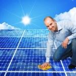 Solar panel — Stock Photo #7851706