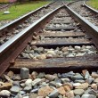 Stock Photo: Vintage Railroad Tracks