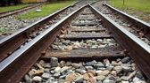 Vintage Railroad Tracks — Stock Photo