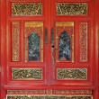 Antique Chinese Wardrobe — Stock Photo
