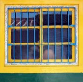 Old Chinese Farmhouse Window — Stock Photo