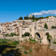 Besalu in Catalonia — Stock Photo
