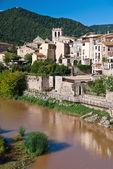 Medieval town of Besalu — 图库照片