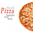Hot pizza — Stock Photo #7883360
