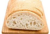 新鲜的面包恰巴塔宏 — 图库照片