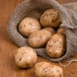 Harvest potatoes — Stock Photo #7947301