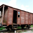 Stock Photo: Old waggon.