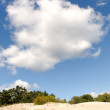 Clouds over dunes. — Foto Stock