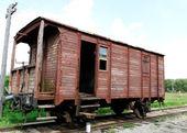 Vecchio vagone. — Foto Stock