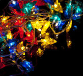Decorative Christmas garland — Stock Photo