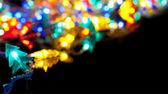Decorative lights garland — Stock Photo