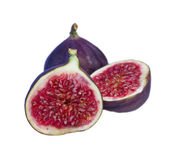 Fresh figs isolated — Stock Photo