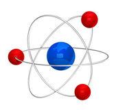 Atom symbol. Vector. — Stock vektor
