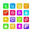 Application icons — Stock Vector