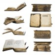 Medieval old book, psalter — Stock Photo