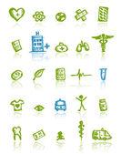 медицинские иконки для вашего дизайна — Cтоковый вектор