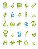 Medische pictogrammen voor uw ontwerp — Stockvector
