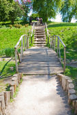 Path to the stairs — Stock Photo