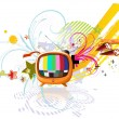 Funky abstract background -  